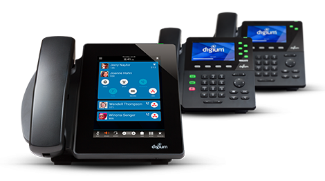 Dx family of Digium VoIP phones