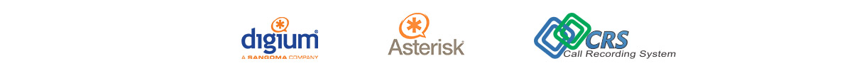 Services provided for Digium, Asterisk, and CRS (Call Recording System)
